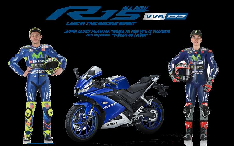 Yamaha Indonesia akan buka indent online untuk All New R15 V3 mulai tanggal 1 April 2017