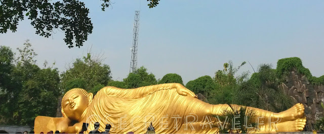 Sleeping Budha Indonesia