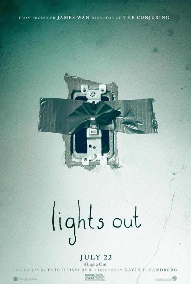 Lights Out [2016] [DVDR] [NTSC] [Latino] [Resubido]