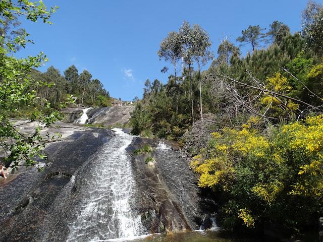 Cascada río de San Xoán en A Pobra