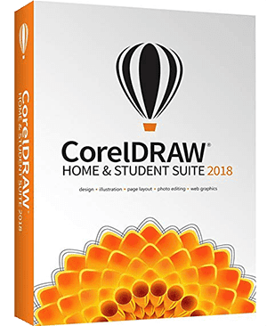 CorelDRAW Home & Student Suite 2018 Graphic design software for beginners, hobbyists and students