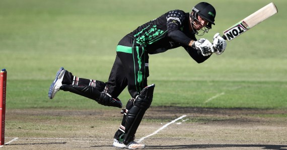 Sarel Erwee (Credit: Anesh Debiky) - Hollywoodbets Dolphins - Ram Slam T20 Challenge - Cricket - South Africa