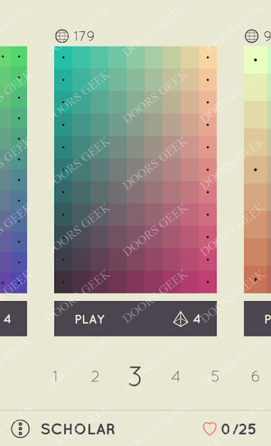 I Love Hue Scholar Level 3 Solution, Cheats, Walkthrough