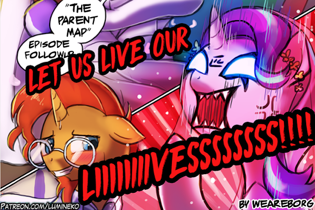 The Parent Map Aggretsuko Starlight Glimmer. Let Us Live Our LIVES! By We Are Borg