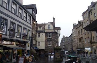 La casa más vieja de Edimburgo.