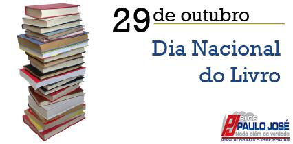 29 DE OUTUBRO  Dia Nacional do Livro de1162f200cf7