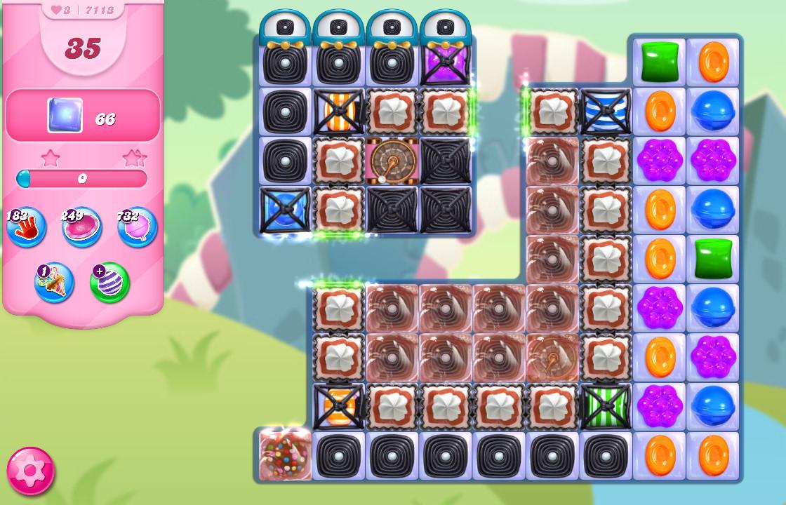 Candy Crush Saga level 7113