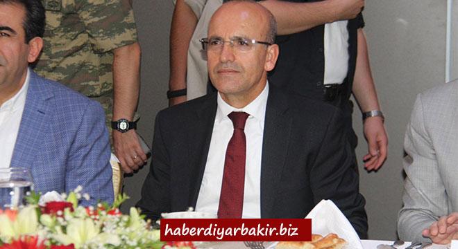 Başbakan Yardımcısı Mehmet Şimşek Diyarbakır'da STK temsilcileriyle bir araya geldi