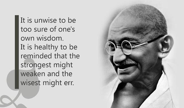 Mahatma gandhi truth quotes