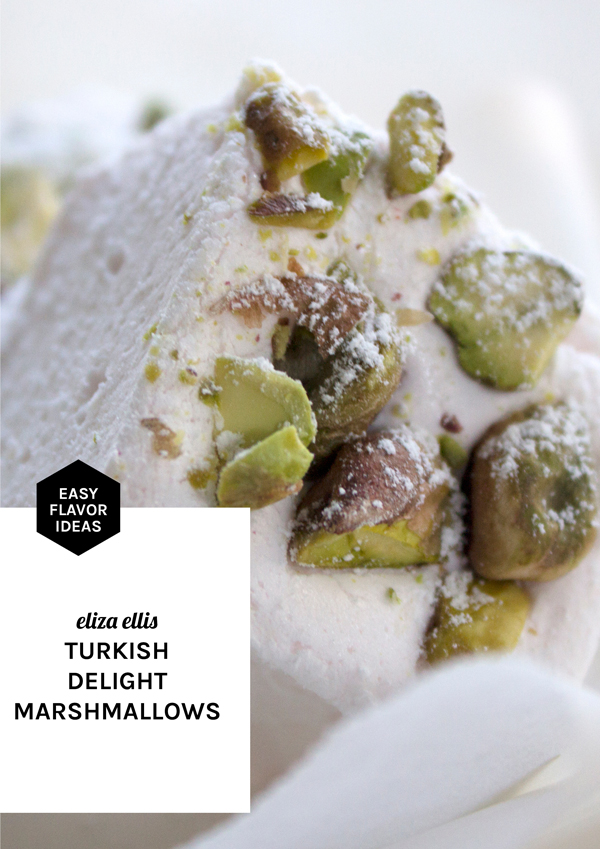 Turkish Delight Homemade Marshmallows - Easy Flavor Ideas by Eliza Ellis