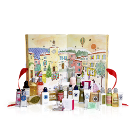 Beautifully packaged Advent calendar 2017 from L'Occitane