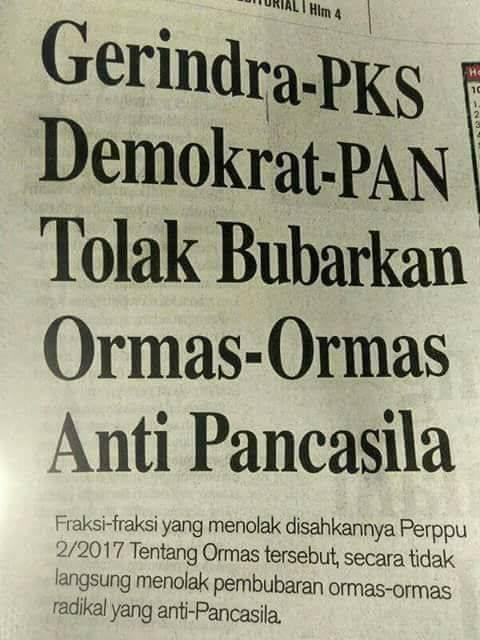 Kapolrestabes Semarang: Yang Menolak Perppu Ormas Berarti Kroni HTI