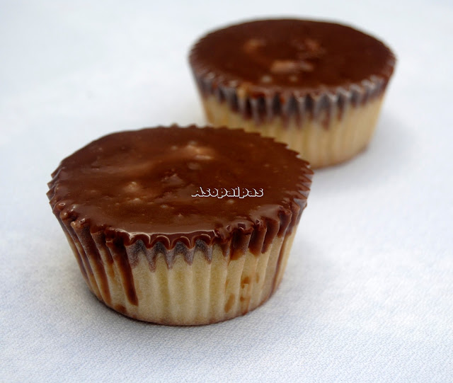 Cupcakes Boston Cream Pie