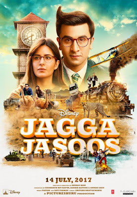 Jagga Jasoos 2017 Hindi BRRip 480p 450Mb x264