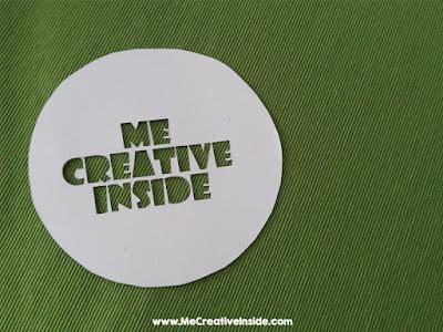 creare uno stencil con il cartone