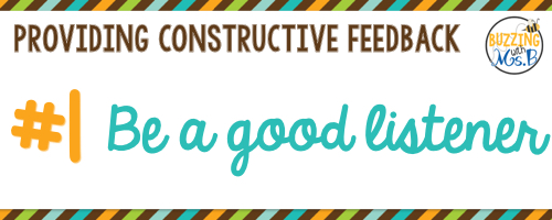 As an instructional coach, it's important to provide quality feedback to teachers. But how can you communicate your feedback without putting people on the defensive? When you're communicating feedback to teachers, whether it's part of a coaching cycle or just a classroom visit, it's important to consider these six tips. Provide constructive feedback to support your teachers and students! #instructionalcoach