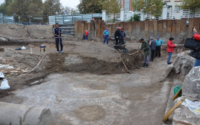 Early Christian 'Bishop's Basilica' in Plovdiv, Bulgaria, reveals hidden secrets