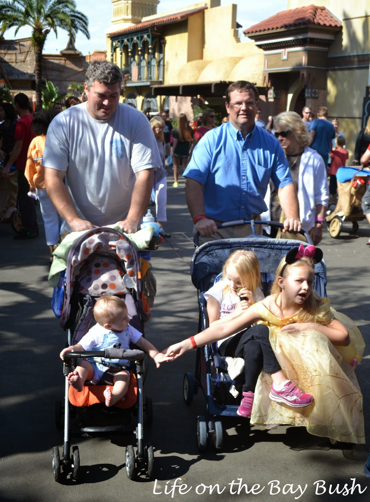 Stroller Brigade at the Magic Kingdom