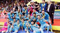 FÚTBOL SALA - UEFA Cup 2017/2018: Inter Movistar revalida título europeo y ya suman cinco