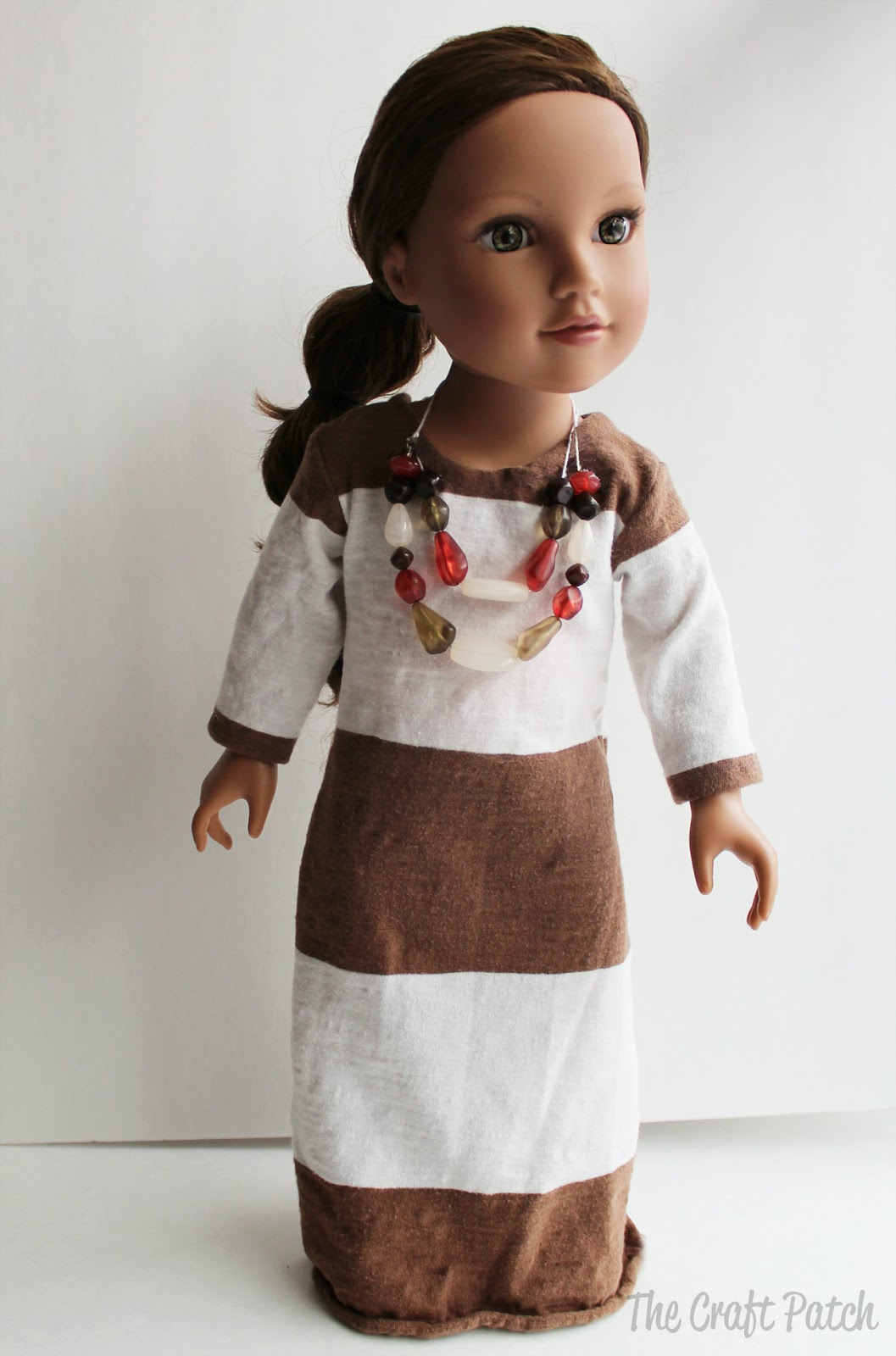 American Girl Doll Basic Knit Dress Pattern And Tutorial