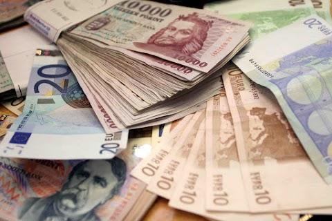 Devizapiac - Alig változott a forint árfolyama