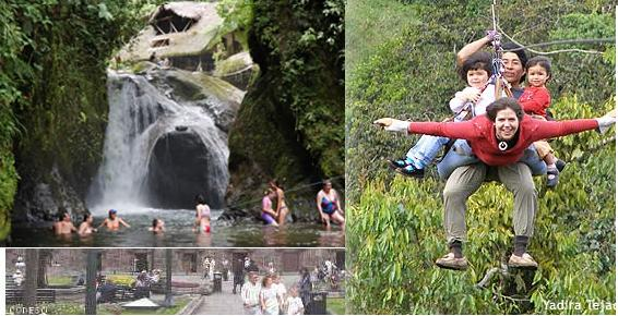 Lugares turísticos de Mindo Ecuador