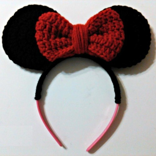 Minnie Mouse Inspired Headband - Free Pattern