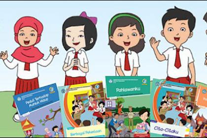 Download Buku PJOK Kurikulum 2017 Kelas 1 SD Untuk Tema 1 Sampai Tema 5