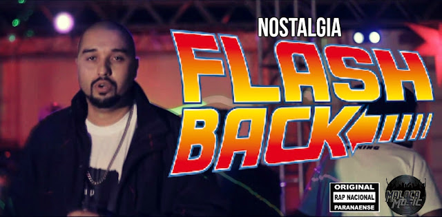 "O Rapper Paranaense ""Mc Careca"" lança o clipe ""Nostalgia Flash Back"""