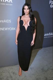Kim Kardashian At 2019 amfAR Gala in New York