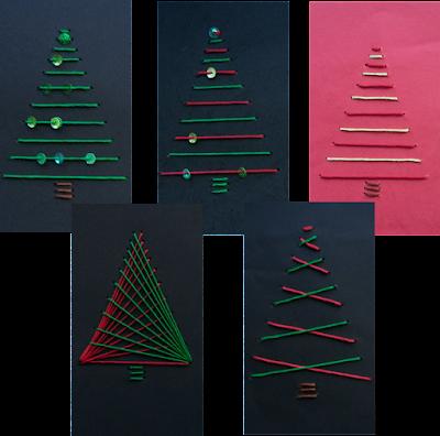 Sticken Mit Kindern Weihnachtskarten Inkl 4