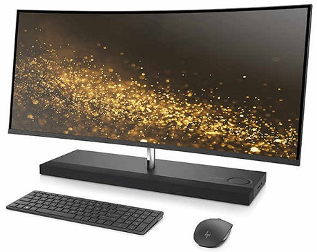 HP ENVY Curved All-in-One 34 (world's widest curved all-in-one)