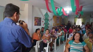 CAPS de Picuí realiza café da manhã de confraternização