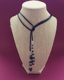 classic leather necklace by Beadhouse at Hochanda