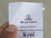 2 Tempat di bank BRI yang dapat melayani transaksi menggunakan buku CEK dan buku BG