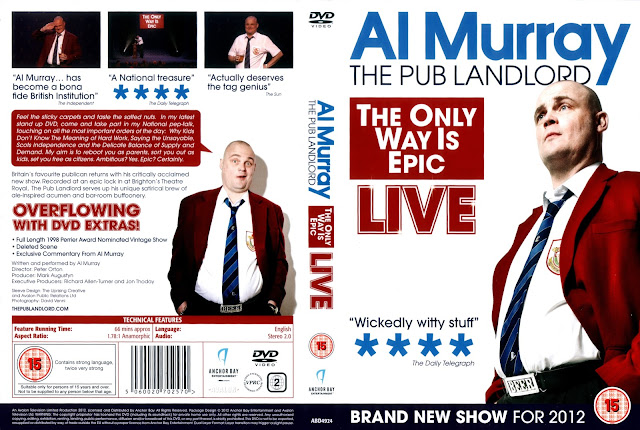 Al Murray: The Only Way Is Epic Tour DVD Cover