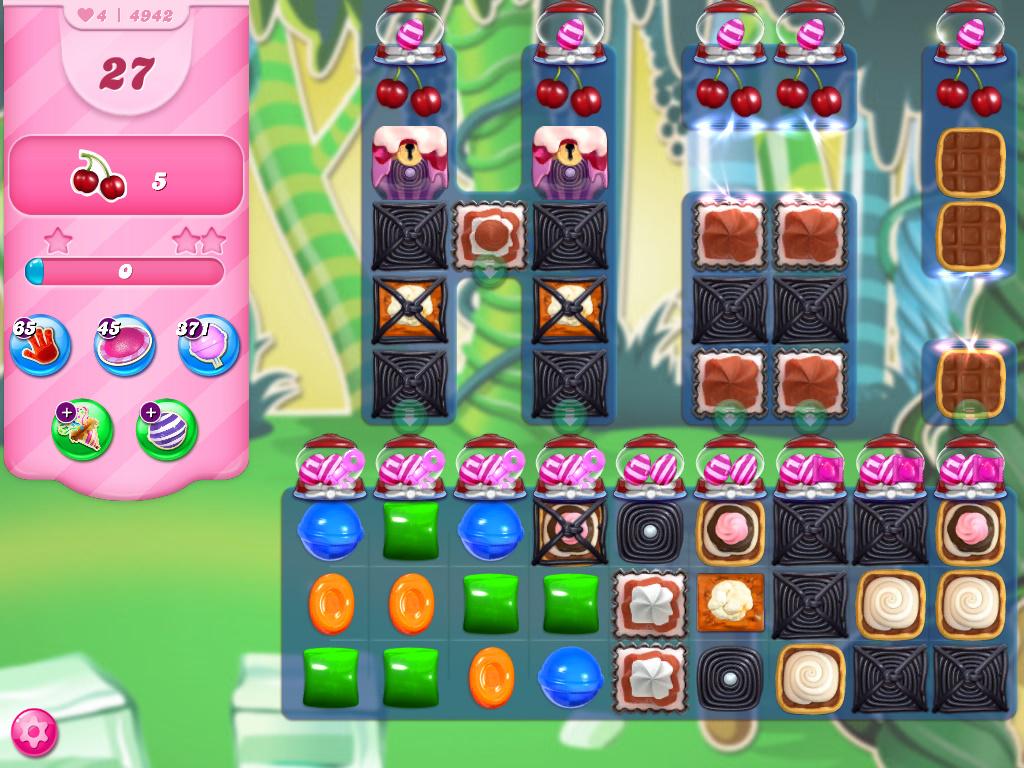 Candy Crush Saga level 4942