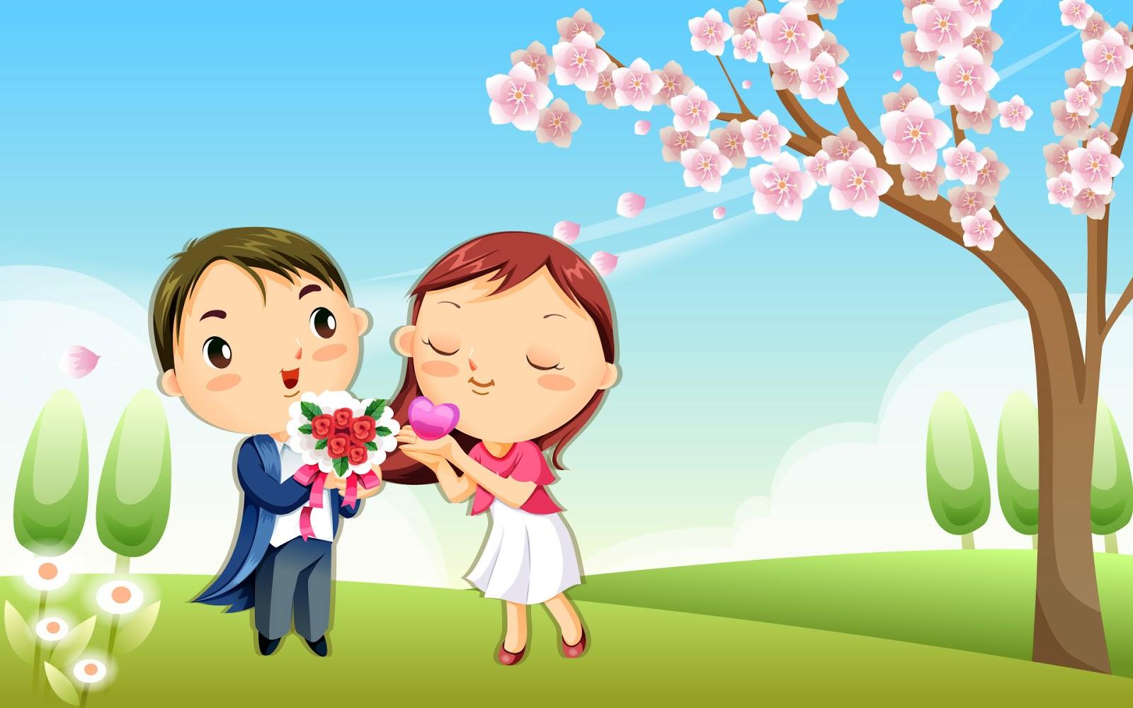 101+ Gambar Animasi Cinta Segitiga Terbaik