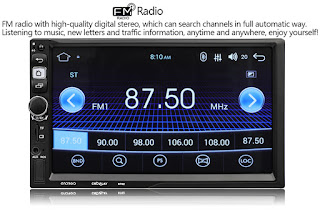 autoradio 8702 android 7.1 con telecomando