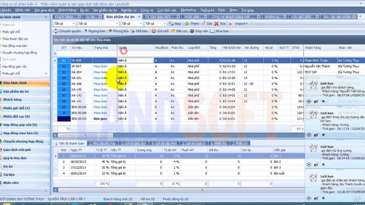 cung cấp phần mềm quản lý bất động sản