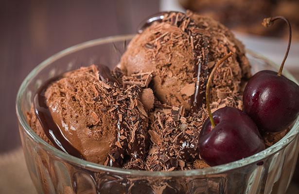 Receta de Helados de Café con Crema de Cacao