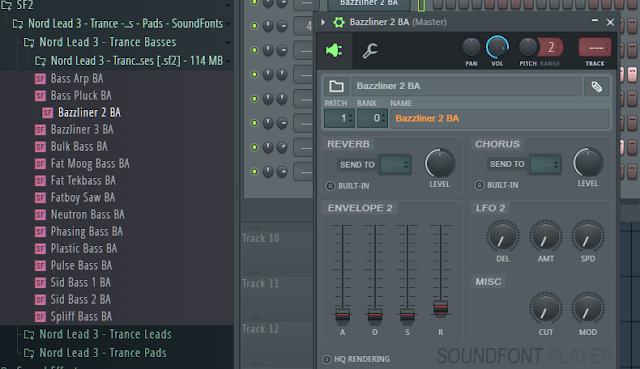 Gratis Soundfonts untuk bahan membuat lagu Trance