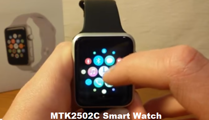 MTK2502C Apple clone smart watch