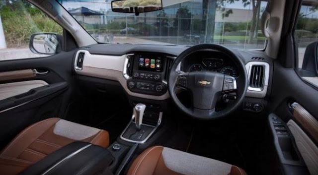 2018 Chevrolet Trailblazer Specs,Interior