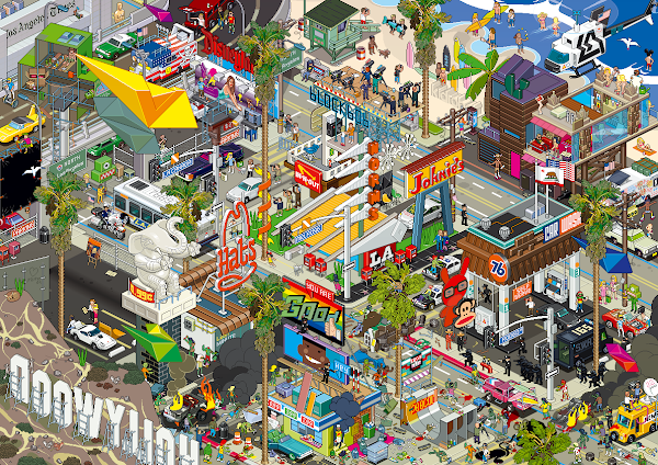 Pixel Art City