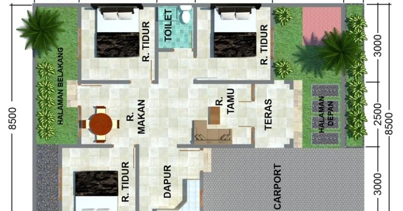 gambar dan  denah  rumah  sederhana  desain gambar furniture