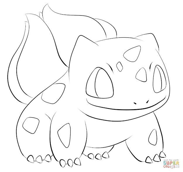 Click The Bulbasaur Coloring Pages To View Printable Version Or Color It  Online Patible With Ipad And Android Tablets