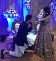 Aakanksha Awasthi with her husband Abhishek Singh Chauhan - Photo