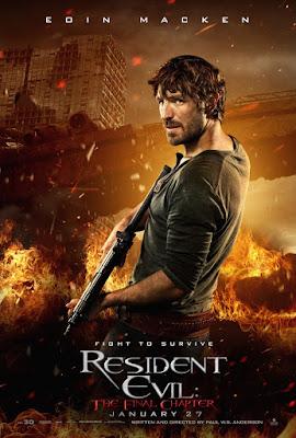 Resident Evil: The Final Chapter Eoin Macken Poster