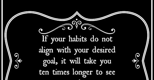 Motivational Monday: How align your daily habits for success